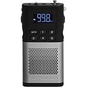Radio analogique Schneider Piccolo argent