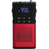 Radio analogique Schneider Piccolo rouge