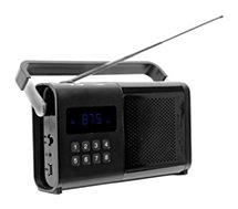 Radio analogique Schneider Movimo noir
