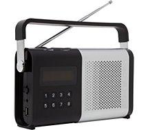 Radio analogique Schneider Movimo argent