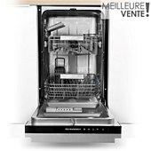 Lave vaisselle tout encastrable 45 cm Schneider SCLT042A0N