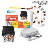 Imprimante photo portable HP Pack Sprocket Happy Days
