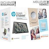 Chromebook HP Pack X360 14-ca0004nf+ Etui+ Nest Mini