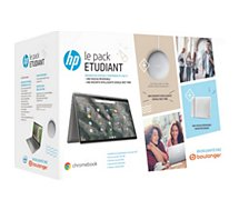 Chromebook HP  Pack X360 14-ca0004nf+ Etui+ Nest Mini