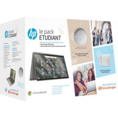 Location Chromebook HP Pack X360 14-ca0004nf+ Etui+ Nest Mini
