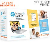 Ordinateur portable HP Pack 15s-fq2008nf+housse+Office 365