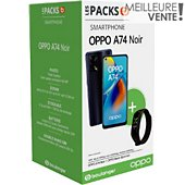 Smartphone Oppo Pack A74 Noir 4G +  Band