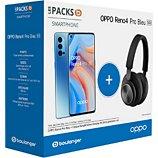Smartphone Oppo  Pack Reno 4 Pro Bleu 5G + Casque B&O