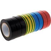 Multiprise Zenitech Lot 9 rubans adhésifs 15mm x 10m - Zenit