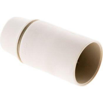 Noname Douille E14 Thermoplastique Lisse Blanc