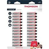 Pile Thomson Lot de 48 piles AA LR06 - Thomson