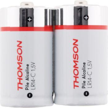 Thomson Pack 2 piles alcalines LR14 C 1,5 V - Th