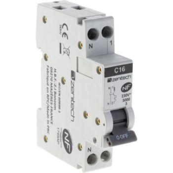 Zenitech Disjoncteur PH/N - 16A NF - Zenitech