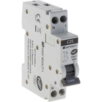 Zenitech Disjoncteur PH/N - 25A NF - Zenitech