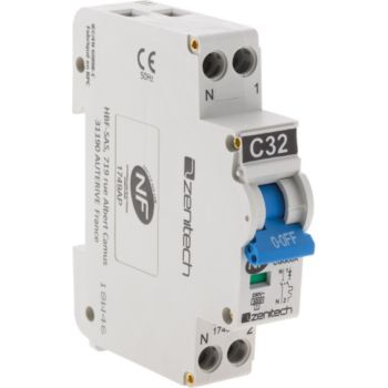 Zenitech Disjoncteur PH/N - 32A NF - Zenitech