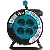 Rallonge Zenitech Ménager 3G 1 mm² - BLEU 15 M