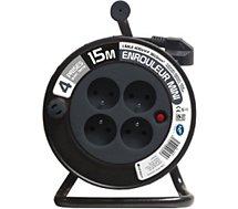 Rallonge Zenitech  Ménager 3G 1 mm² - GRIS 15 M