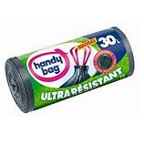 Sac poubelle Handy Bag  15 sacs de 30L poignées coulissantes