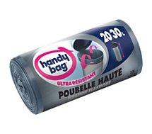 Sac poubelle Handy Bag  15 sacs 20 à 30L spécial poubelle haute