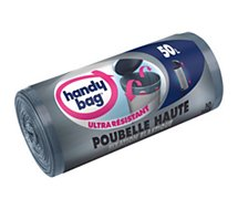 Sac poubelle Handy Bag  50L spécial poubelle haute