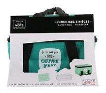 Lunch bag Concept Factory  sac fraicheur et pain de glace M18