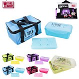 Boîte de conservation Take Away  Lunch box sac fraicheur + pain de glace