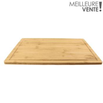 Cook Concept a decouper avec rebord bambou 33.5x
