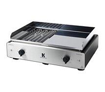 Plancha électrique Krampouz Duo BBQ/Plancha électrique GECIO2OA00