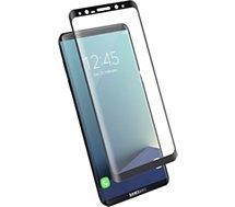 Protège écran Bigben Connected  Samsung S8 Verre trempé noir