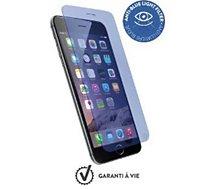 Protège écran Force Glass iPhone 7/8 verre trempé lumière bleu