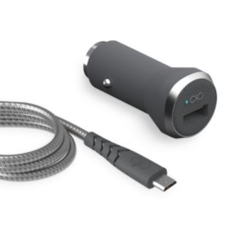Force Power Chargeur voiture + cable Micro USB 2.1 A