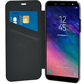 Etui Bigben Connected Samsung A6+ Crystal noir