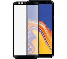 Protège écran Bigben Connected Samsung J4+ Verre trempé noir