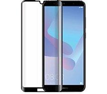 Protège écran Bigben Connected  Huawei Y6 2019 Verre trempé noir