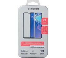 Protège écran Bigben Connected  Samsung A20e Verre trempé noir