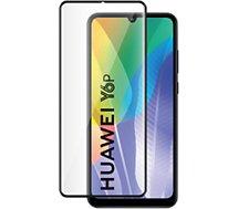 Protège écran Bigben Connected  Huawei Y6P Verre trempé noir