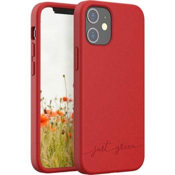 Just Green iPhone 12 mini Bio rouge