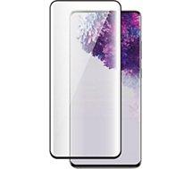 Protège écran Bigben Connected  Samsung S20 FE Verre trempé noir