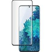 Protège écran Bigben Connected Samsung S21+ Verre trempé noir