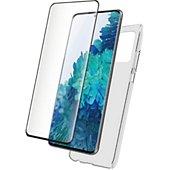 Coque Bigben Connected Samsung S21 Coque + Verre trempé