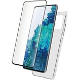 Coque Bigben Connected  Samsung S21+ Coque + Verre trempé