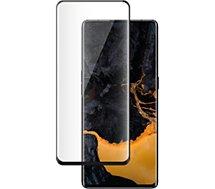 Protège écran Bigben Connected  Oppo Find X3 Lite Verre trempé noir