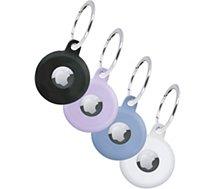 Accessoire tracker Bluetooth BBC  Pack de 4 AirTag Cases silicone