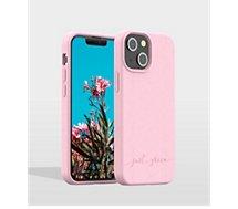 Coque Just Green  iPhone 13 mini Bio rose
