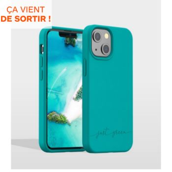 Just Green iPhone 13 mini Bio bleu