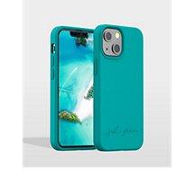 Coque Just Green  iPhone 13 mini Bio bleu