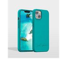 Coque Just Green  iPhone 13 Bio bleu