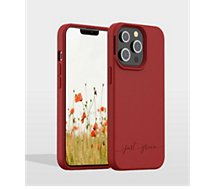 Coque Just Green  iPhone 13 Pro Bio rouge