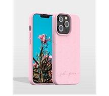 Coque Just Green  iPhone 13 Pro Bio rose