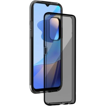 Bigben Connected Oppo A16/A16S Silisoft Glossy Black